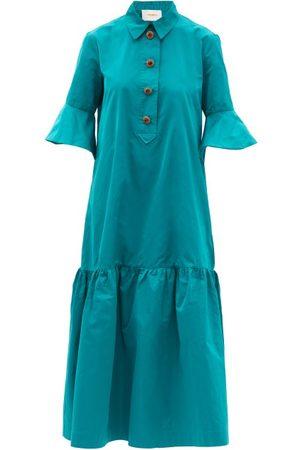 La DoubleJ Artemis Taffeta Shirt Dress - Womens