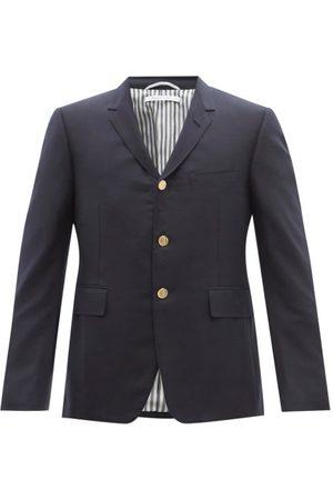 Thom Browne Super 120s Wool-twill Suit Jacket - Mens - Navy