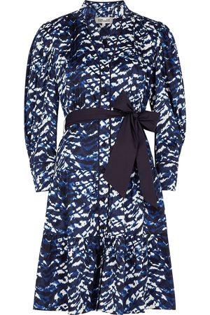 Diane von Furstenberg Diana tie-dyed stretch-cotton shirt dress