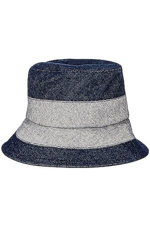 LOLA HATS Women Hats - Denim Sliced Bucket Hat in Navy
