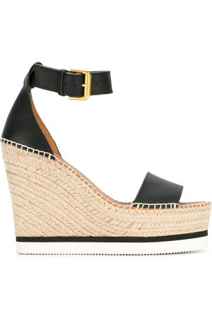 See by Chloé Women Wedges - Espadrille wedge sandals