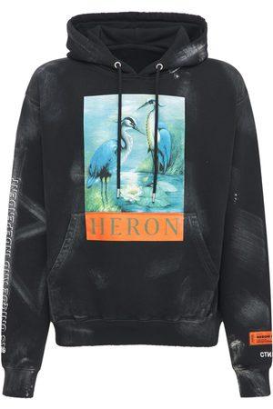 Heron Preston Men Hoodies - Lvr Exclusive Vintage Distressed Hoodie