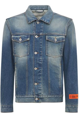 Heron Preston Cotton Denim Jacket
