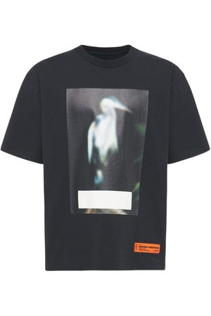 Heron Preston Censored Herons Print Cotton T-shirt