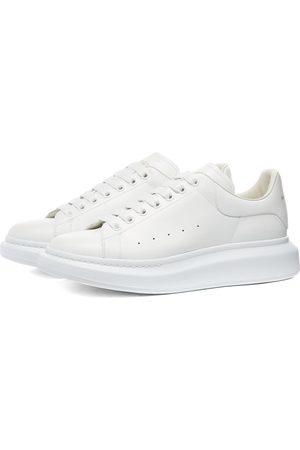 Alexander McQueen Heel Tab Wedge Sole Sneaker