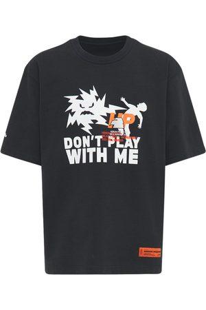 Heron Preston Printed Cotton Jersey T-shirt