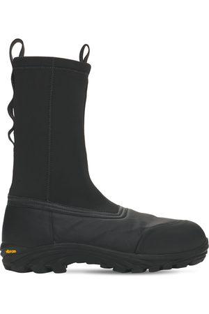 Heron Preston Security Sock Vibram Sole Boots