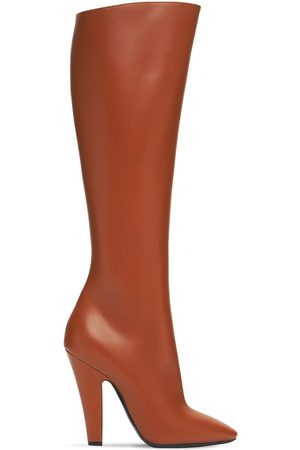 Saint Laurent Women Thigh High Boots - 110mm 68 Tall Leather Boots
