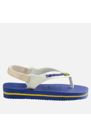 Havaianas Boys Flip Flops - Toddlers' Brasil Logo II Flip Flops