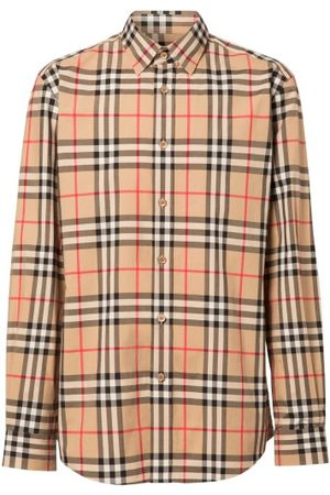 Burberry Caxton Vintage-check Cotton Shirt - Mens