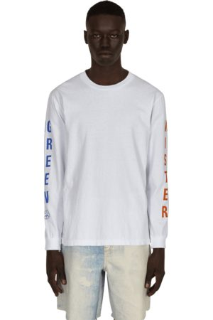 Mr Green Men Long Sleeve - Swiss wordmark longsleeve t-shirt S