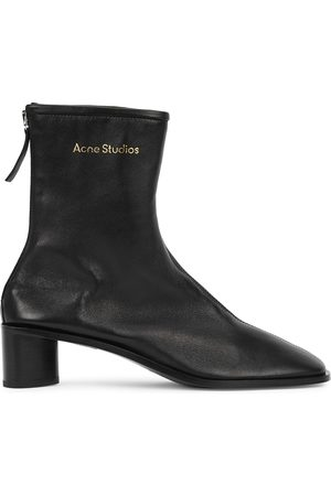 Acne Studios Bertine 50 leather ankle boots