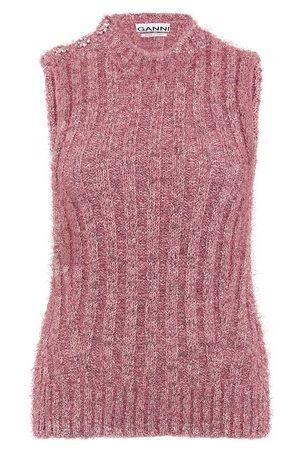 Ganni Chunky glitter knit