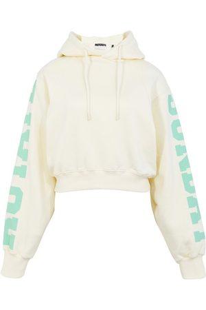 ROTATE Women Hoodies - Viola cropped hoodie
