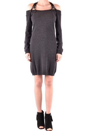 Moschino Women Knitted Dresses - Knit Dress in Grey