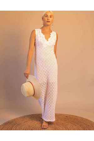 Temptation Positano Montenegro Sleeveless V-Neck Maxi Dress