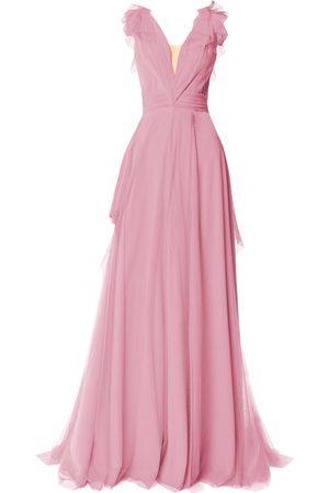 Angelika Jozefczyk Dusty Tulle Evening Dress