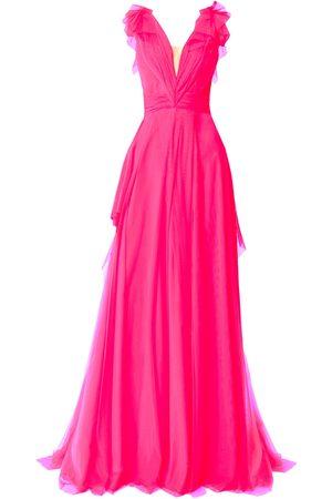 Angelika Jozefczyk Women Evening dresses - Fuchsia Tulle Evening Dress