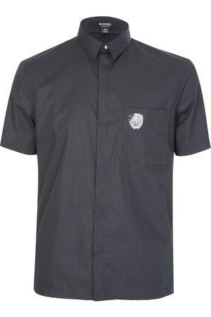 VERSACE Versus Lion Head Pocket Logo Shirt