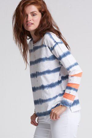Lisa Todd Mesh Fest Long Sleeve Top - Tie Dye