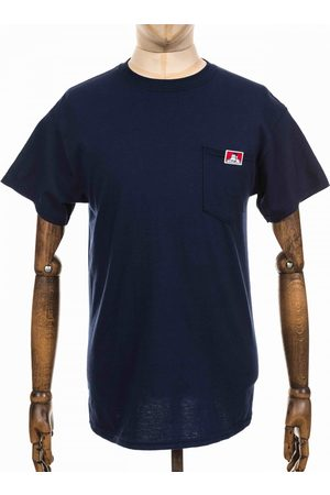 BEN DAVIS Men T-shirts - Logo Pocket Tee - Navy Colour: Navy
