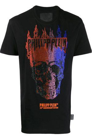 Philipp Plein Flame Crystal T-Shirt
