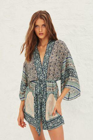 Ba & sh Toam Print Kimono