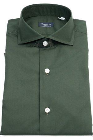 Finamore Men Tops - Camicia 53 NAPOLIC0147ACHILLE Verde bottiglia