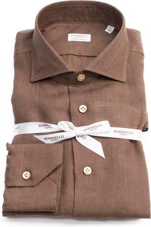 Borriello Men Tops - Camicia BORRIELLO 4 12101-BORRIELLO Marrone