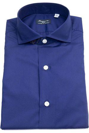 Finamore Camicia 63 NAPOLIC0147ACHILLE Blu