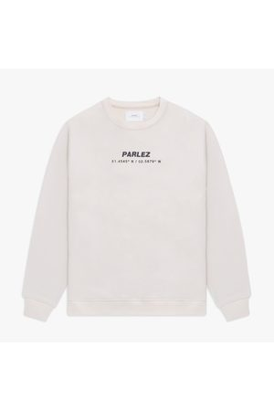 Parlez Men Sweatshirts - Cutter Crew Sweatshirt - Ecru