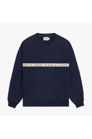 Parlez Farr Crew Sweatshirt - Navy