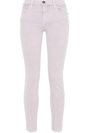 CURRENT/ELLIOTT Women Skinny - Woman The Stiletto Mid-rise Skinny Jeans Lilac Size 24