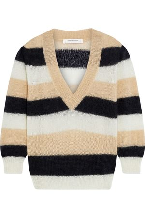 Chinti & Parker Women Sweaters - Woman Striped Mohair-blend Sweater Size L