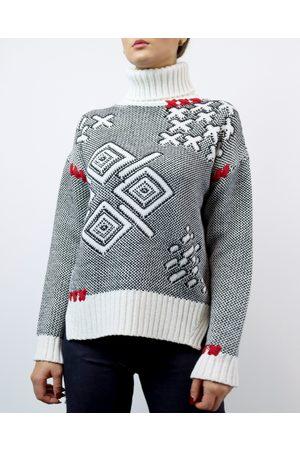 Mitawa Graffiti High Neck Sweater