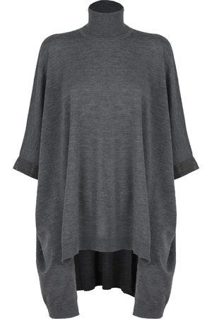 Brunello Cucinelli Sweaters Grey