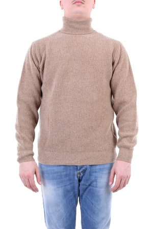 FILIPPO DE LAURENTIIS Men High Necks - Knitwear High Neck Men Camel