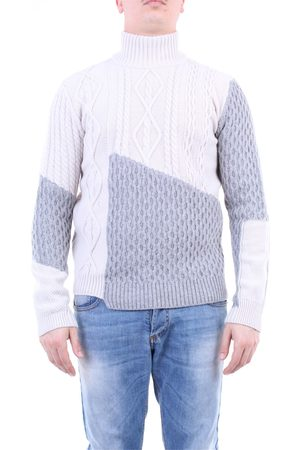 Paolo Pecora Men High Necks - Knitwear High Neck Men and gray