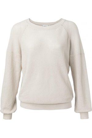 YaYa Cotton Linen Blend Sweater