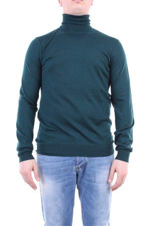 Paolo Pecora Knitwear High Neck Men Verdone