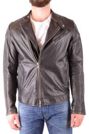D.A. Daniele Alessandrini Leather Jacket in