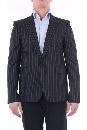 Saint Laurent SAINT LAURENT Jackets Blazer Men and silver