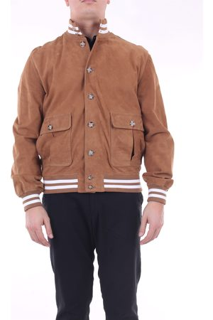 STILL US Biscuit leather jacket