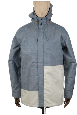 PUMA X BWGH Colourblock Jacket - Dark Denim Colour: Dark Denim
