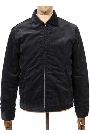 Edwin Men Jackets - Jeans Club Cord Jacket - Ebony Colour: Ebony