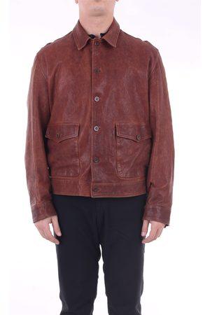 STILL US Men Leather Jackets - Leather leather jacket