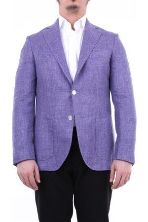 BARBA Jackets Blazer Men Lavender