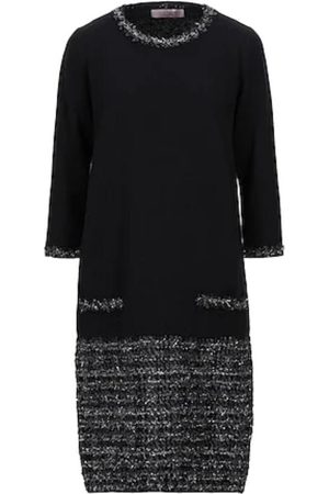 D.EXTERIOR Women Knitted Dresses - Knitted Dress With Lurex Thread 49594 NERO