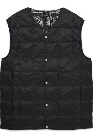 TAION Men Gilets - V Neck Button Vest