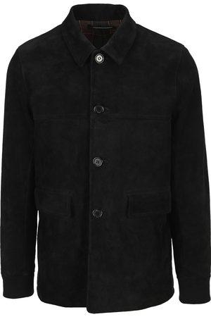 UNDERCOVER Suede overshirt jacket
